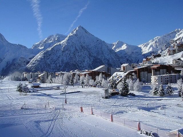 Deux-Alpes, station de ski