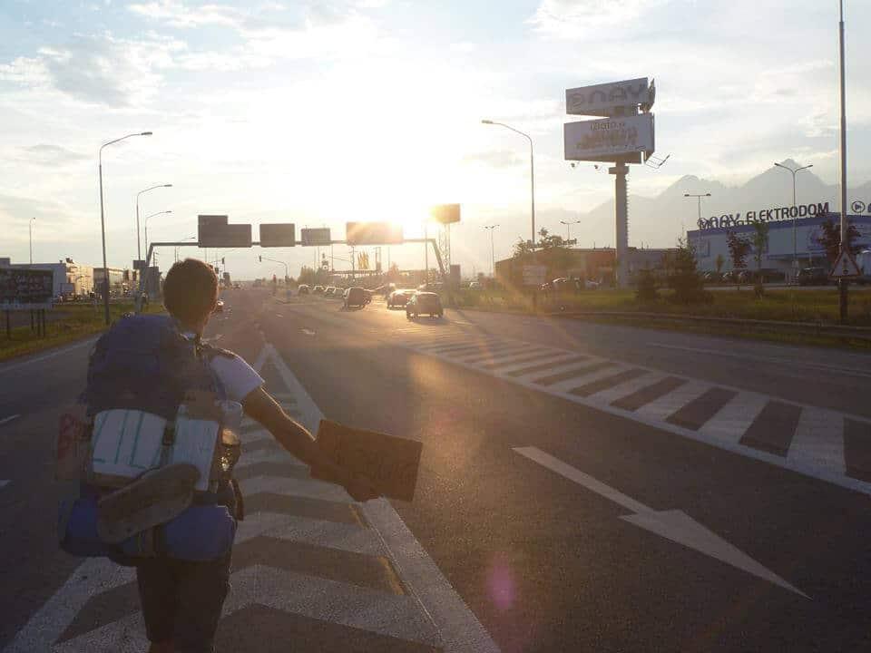 Un étudiant toulousain rejoint Tokyo en auto-stop