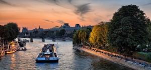 Croisière sur la Seine (2h30) avec dîner, départ Tour Eiffel