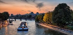 Dîner-croisière sur la Seine, Paris romantique