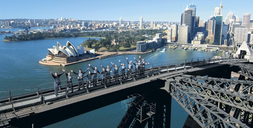 Escalade Harbour Bridge Sydney