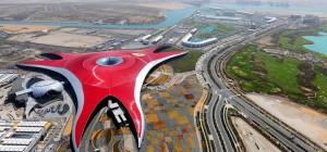 Visiter le parc Ferrari World d'Abu Dhabi depuis Dubaï