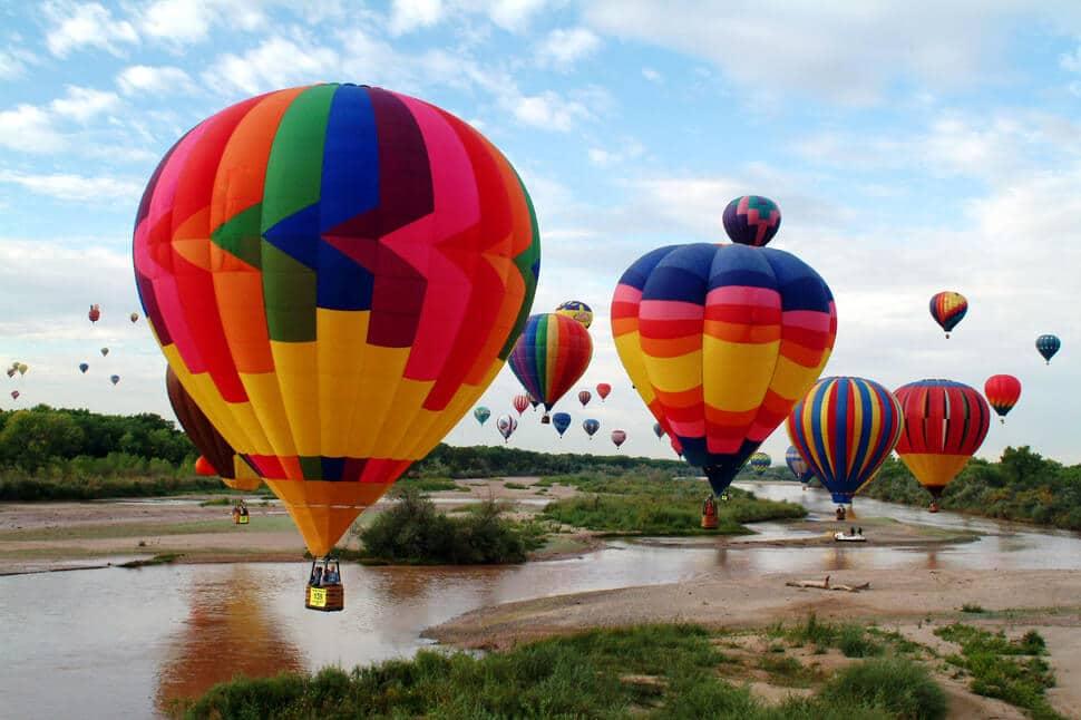 Festivals de montgolfières et ballons du monde