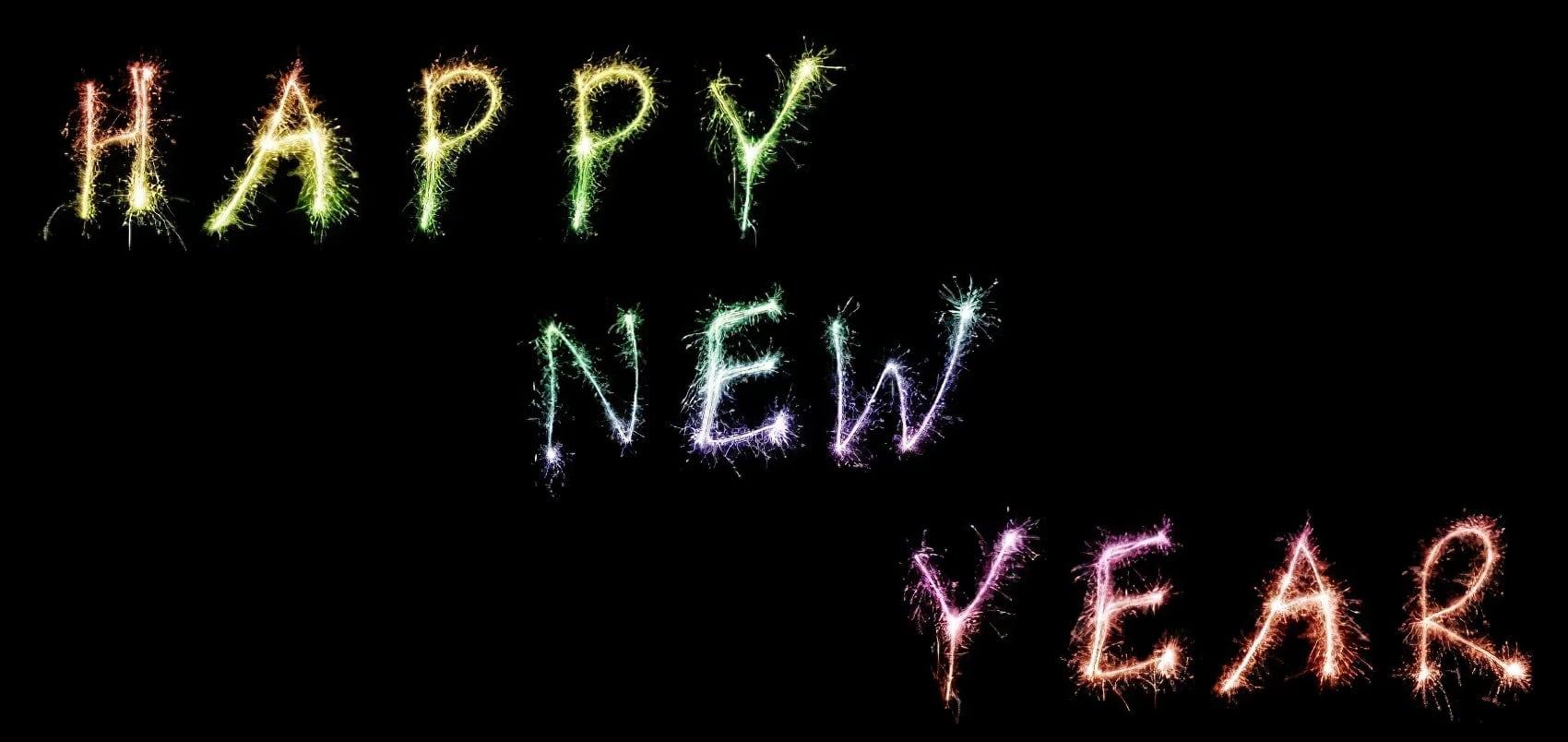 Happy New Year, Bonne Année, Nouvel An