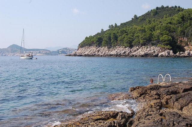 Île Lokrum, Dubrovnik