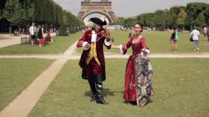 In Love In Paris, vidéo Amnesiart