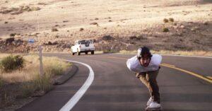 James Kelly, longboard Arbor, vitesse, Californie