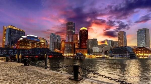 La ville de Boston comme vous ne l'avez jamais vue