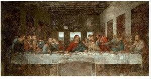 La Cène, Leonard de Vinci, église Santa Maria della Grazie , Milan