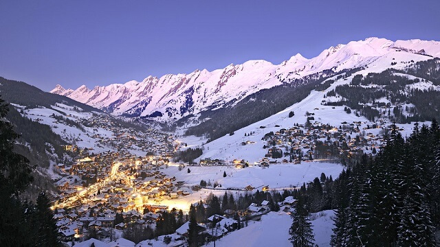 La Cluzaz, station de ski