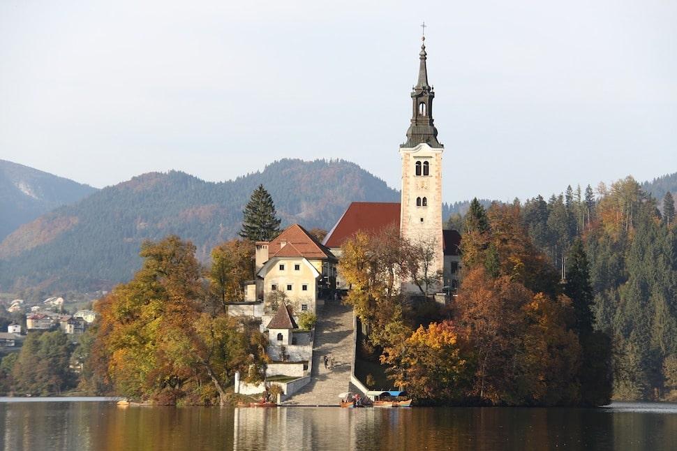 Eglise Lac de Bled