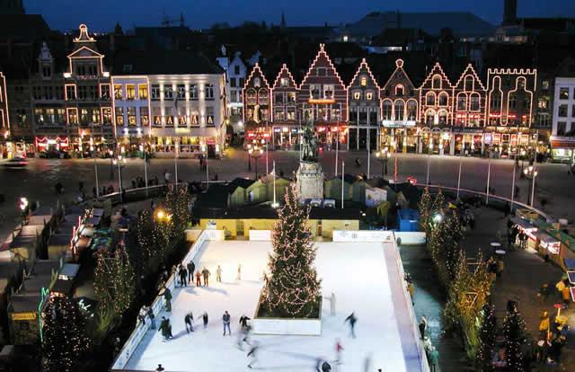 Mercado de navidad, Brujas