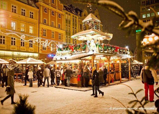 Mercado de Navidad de Wroclaw