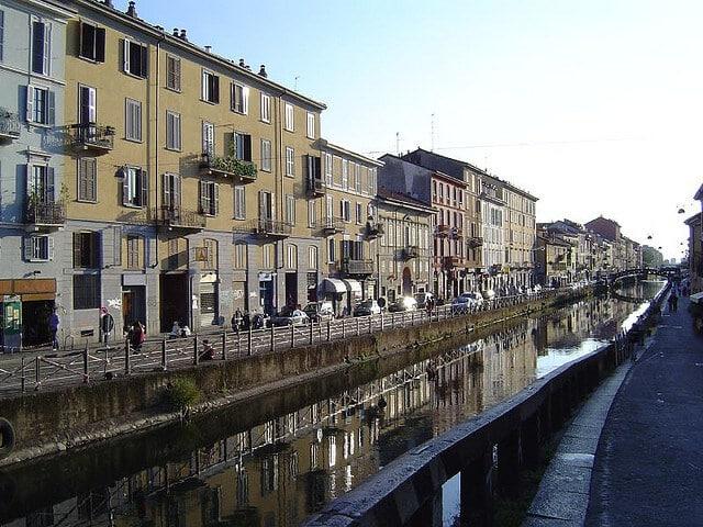 Navigli, canaux de Milan