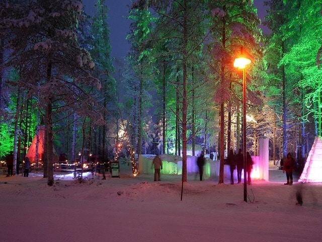 Noël Finlande