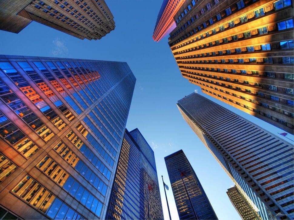 Levez vos yeux dans les plus grandes villes du monde