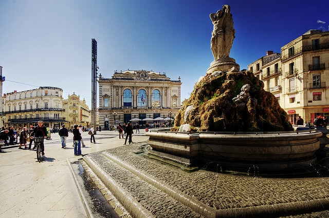 Place de la Comédie, Montpellier