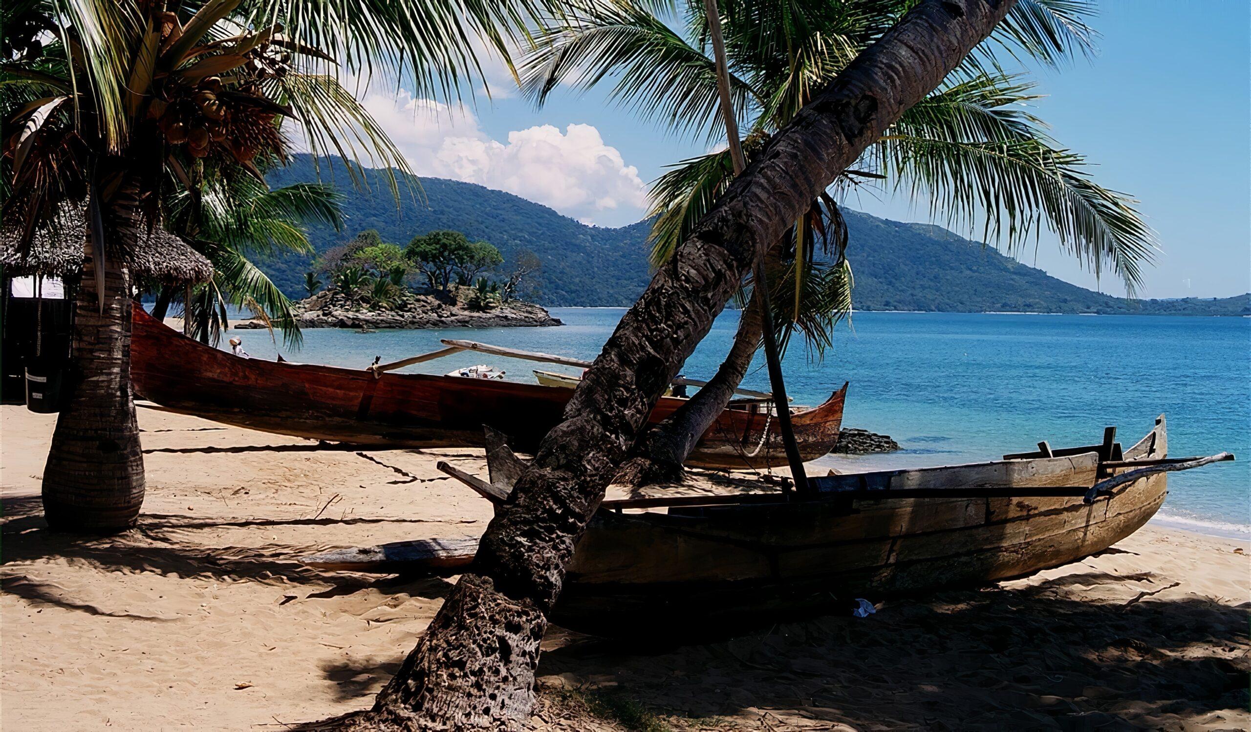 Plage à Nosy-Be, Madagascar-vacances