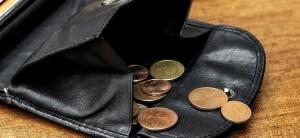 Porte monnaie Euro, valeur argent