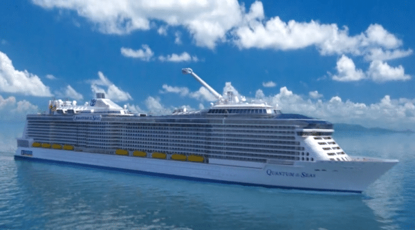 Le Quantum of the Sea, le dernier paquebot de la Royal Carribean