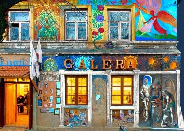 Visite des quartiers bohèmes de Vilnius à pied