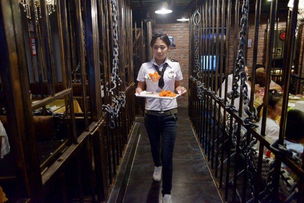 Un restaurant prison a ouvert en Chine