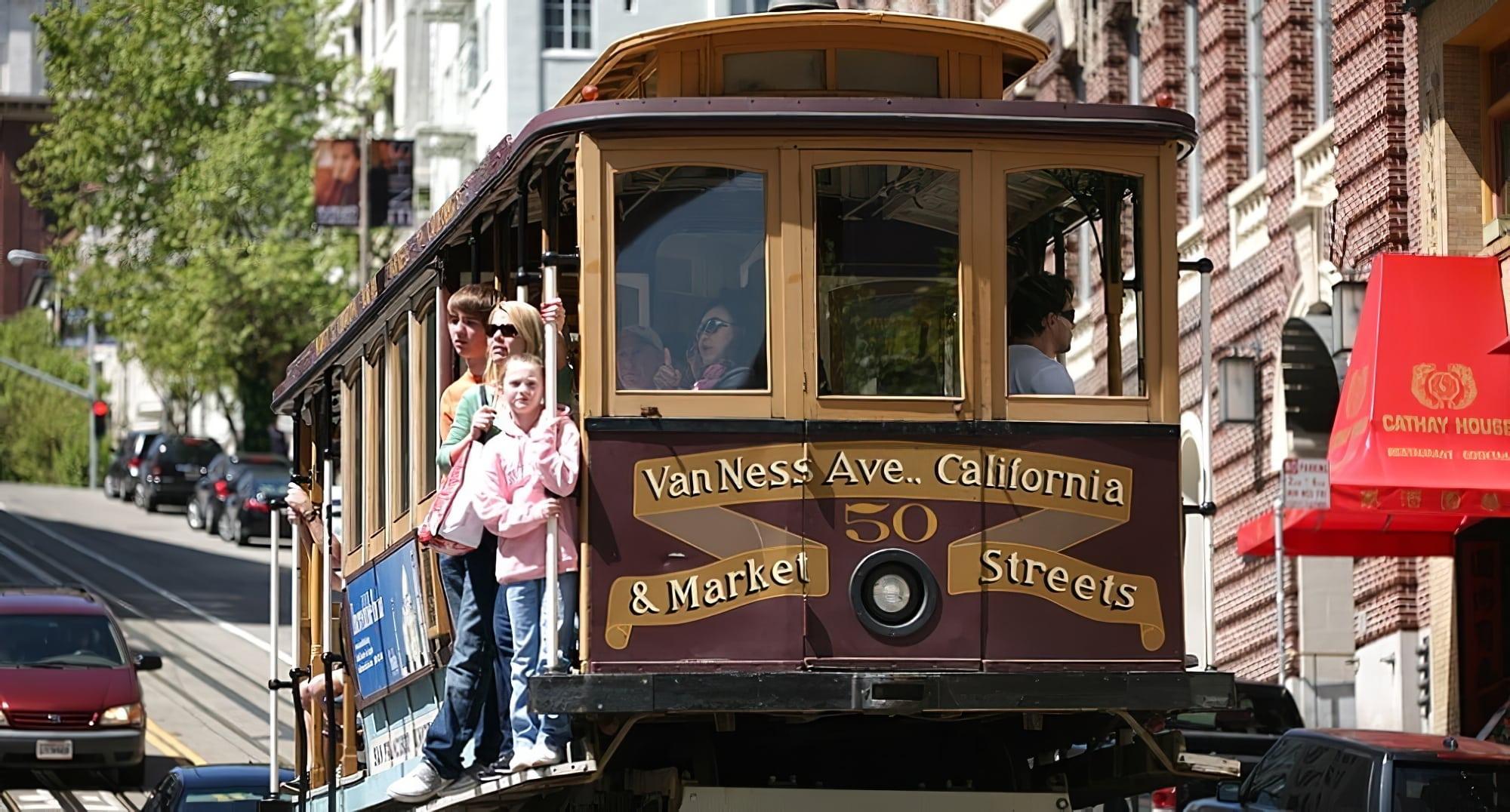 San Francisco City Pass, tramway