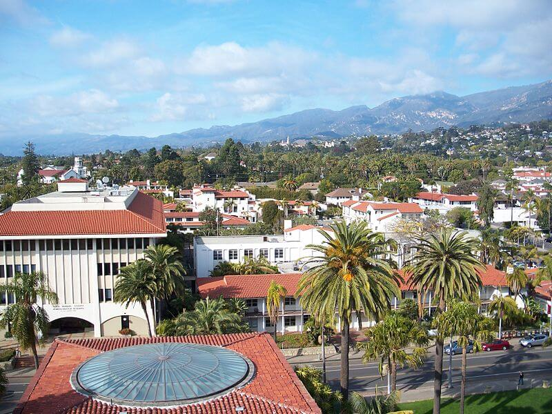 Santa Barbara, road-trip Californie