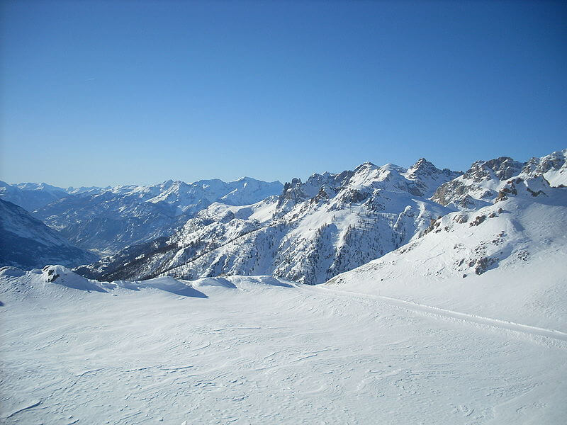 Serre Chevalier, ski