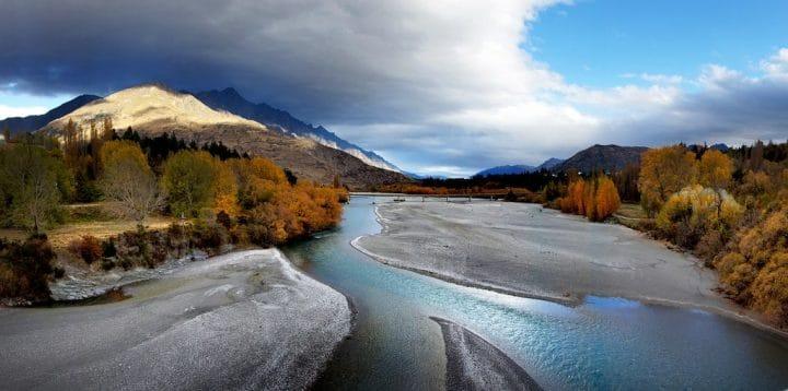 Shotover Riviere Nouvelle Zélande
