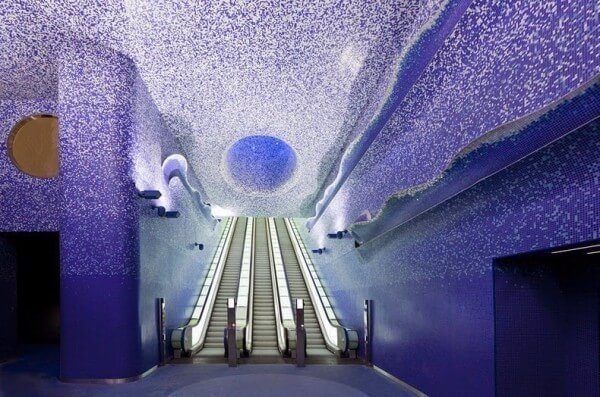 Les stations de métro de Naples converties en galeries d'art