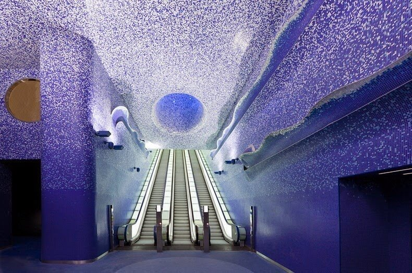 Les stations de métro de Naples converties en galeries d'art