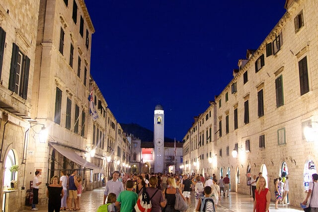 Stradun, Placa, rue principale Dubrovnik