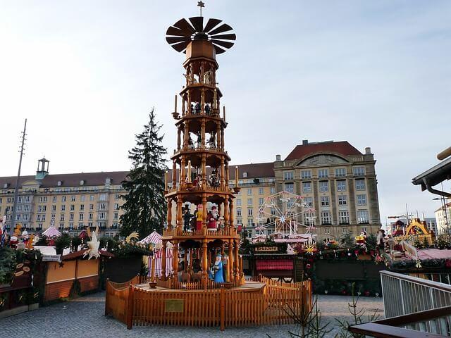 Striezelmarkt, Marché de Noël, Dresde