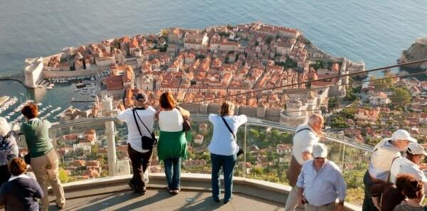 Téléphérique de Dubrovnik, Cable Car Dubrovnik, Mont Srd