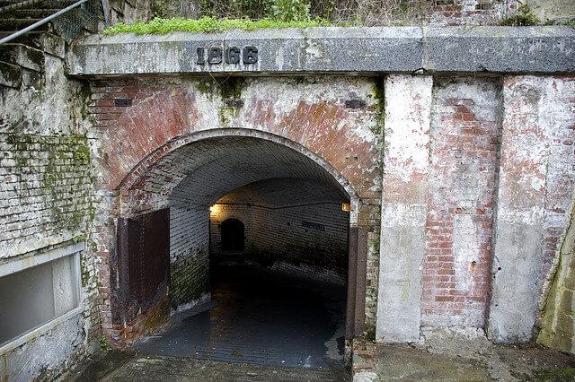 Tunnel d'Alcatraz, prison