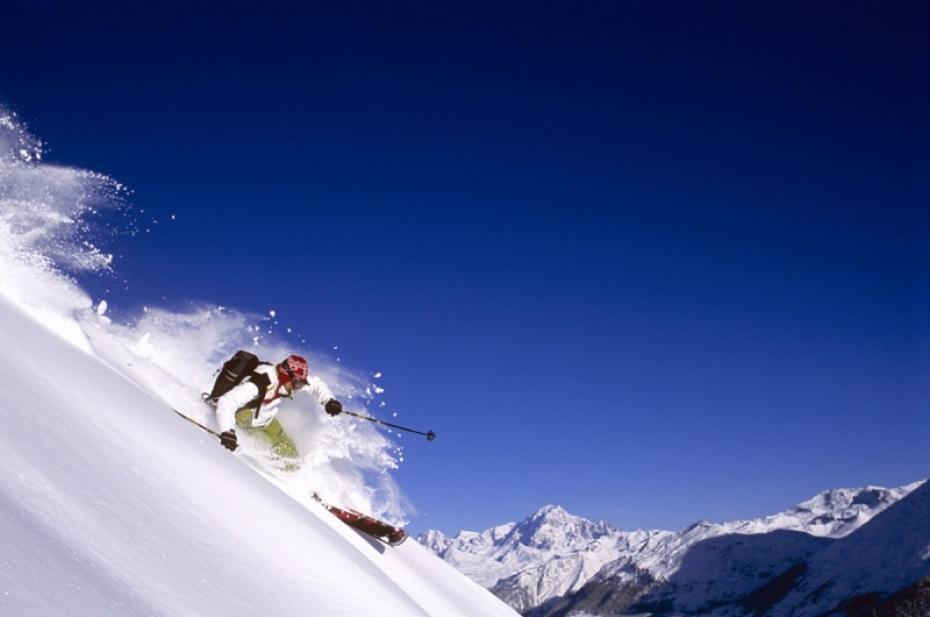 Val d'Isère, station de ski