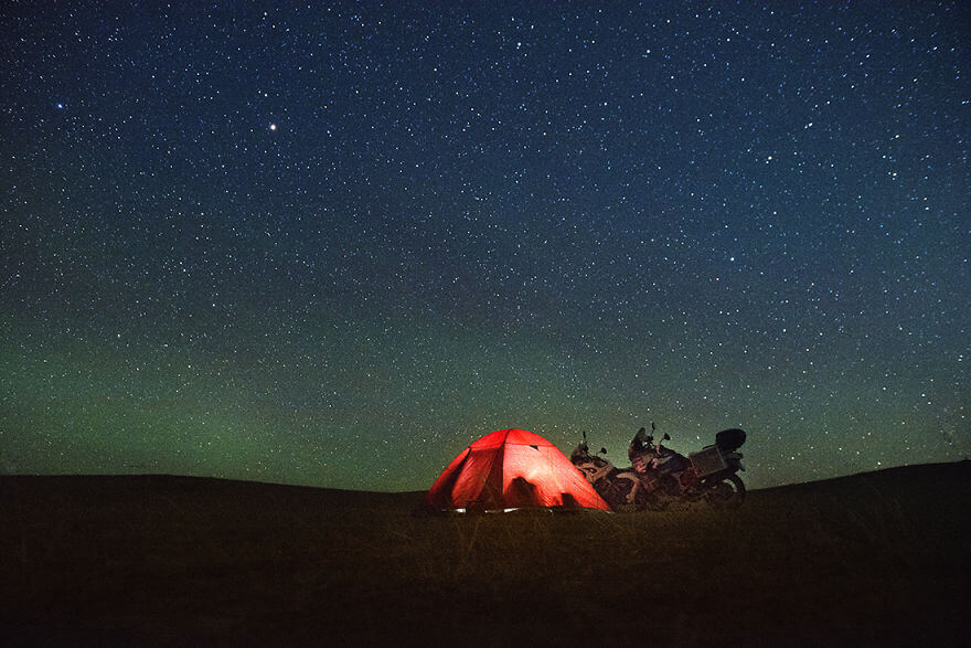 We Want Adventure, couple hollandais part en moto-trip des Pays-Bas en Mongolie