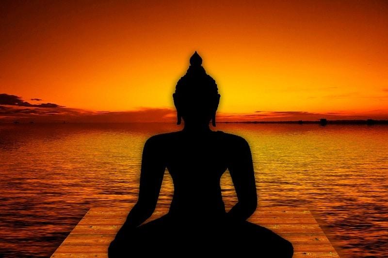 Yoga, bouddha