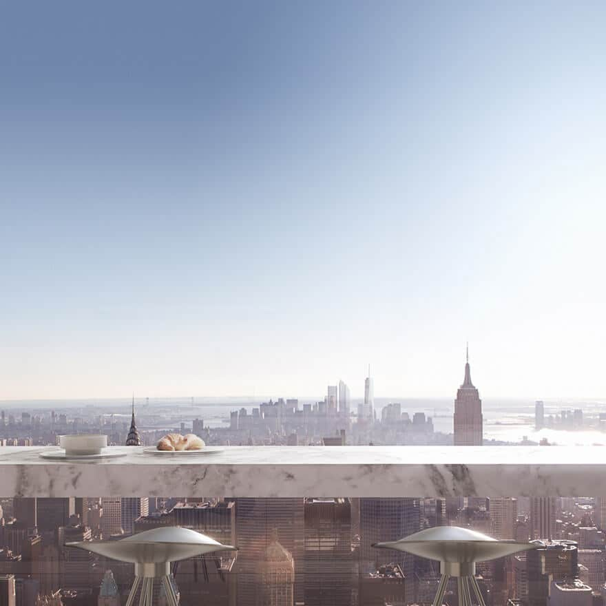 432 Park Avenue, Manhattan, appartement penthouse à 95 millions de dollars
