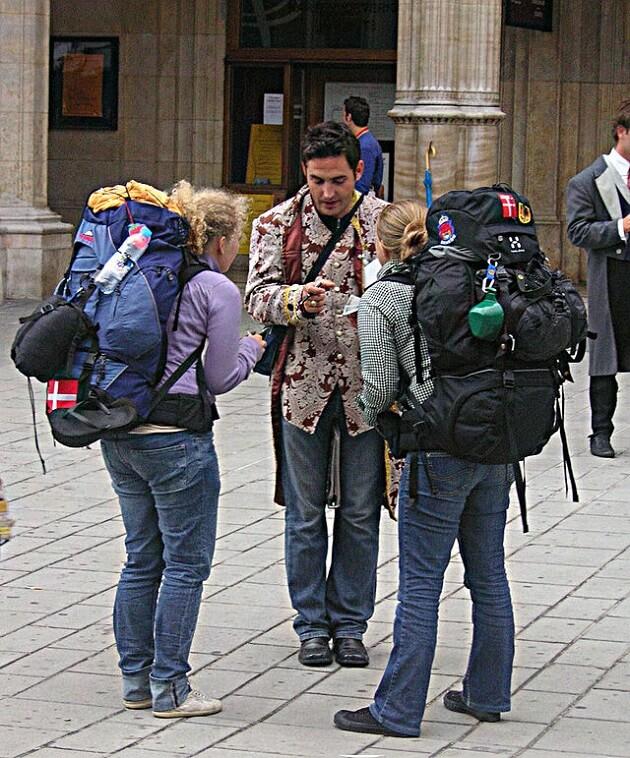 backpaking backpackers