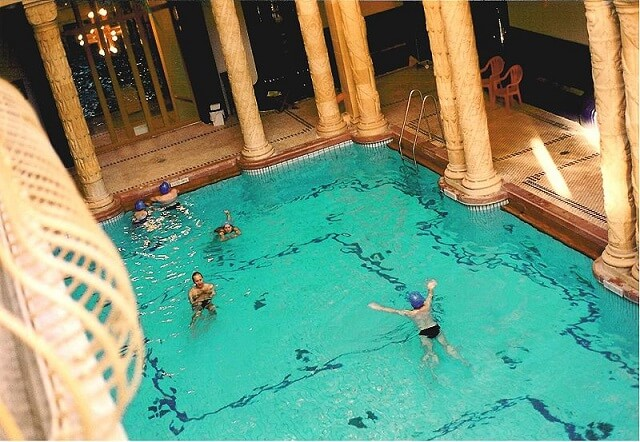 Bains thermaux Gellert Budapest
