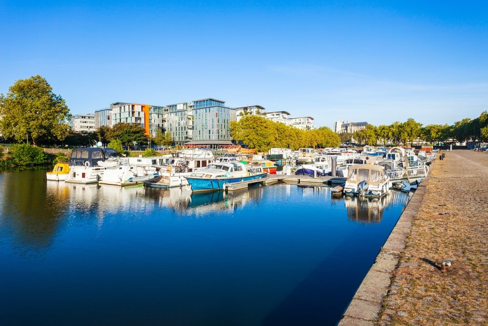 Balade en bateau à Nantes