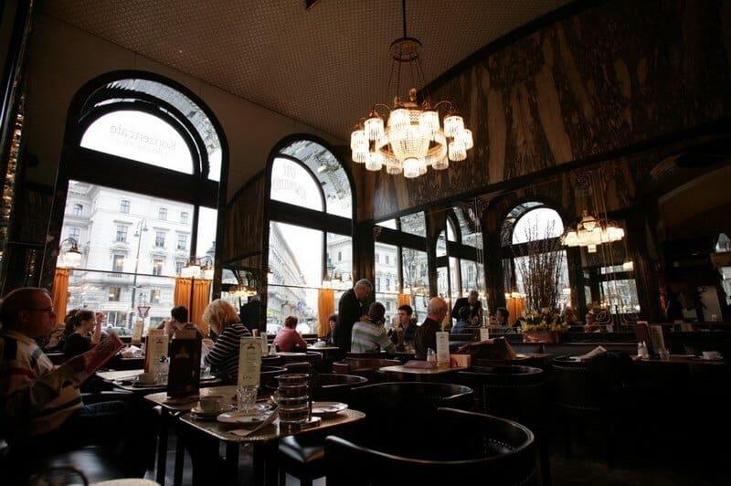 Café Schwarzenberg, Vienne