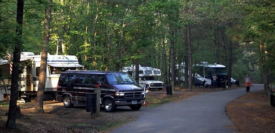 Camping-car, VR, Amérique du Nord