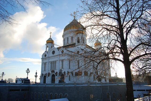 Cathédrale Christ le Sauveur Moscou