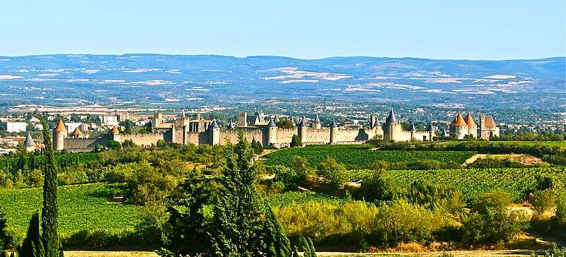 Cité médiévale de Carcassonne, France