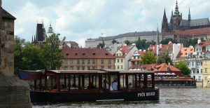 Croisière sur la Vltava à Prague