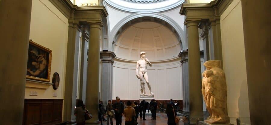 David, Michelange, galerie de l'Academie, Florence