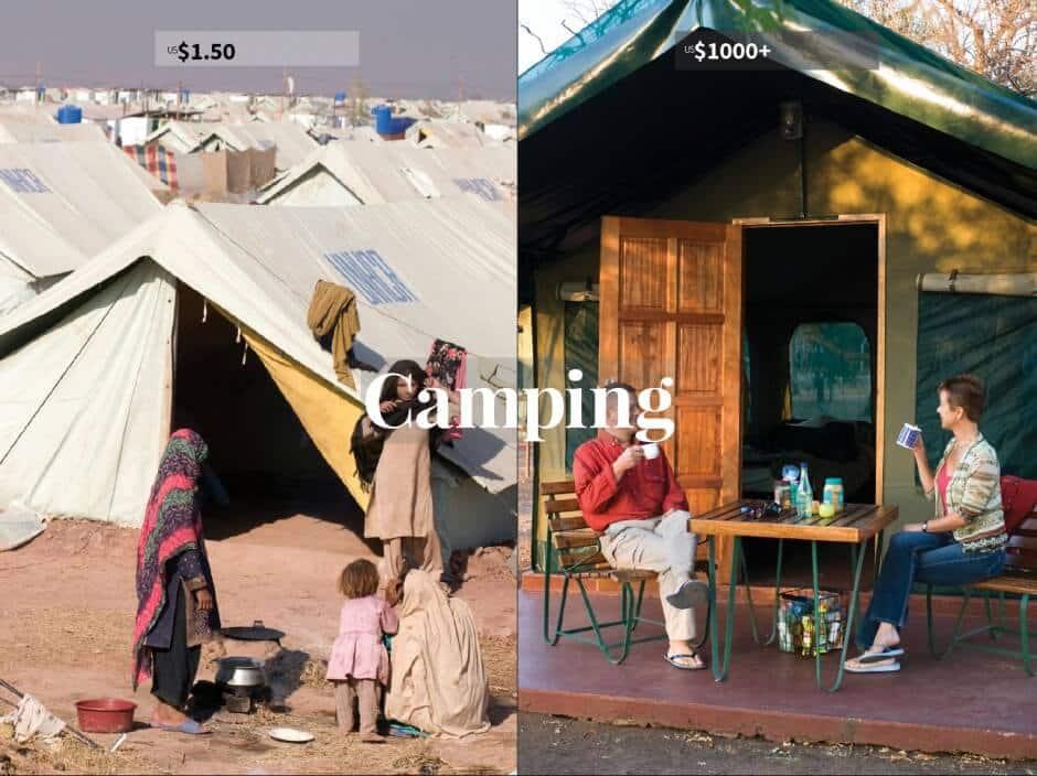 Doug Lansky, photos de réfugiés vs voyageurs